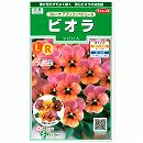 [花タネ]ビオラ:フルーナアプリコットシェードの種