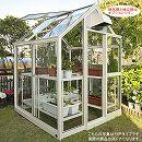 [送料無料] 家庭用屋外温室プチカ:1坪タイプWP-10DW(両ドアタイプ)