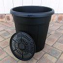 果樹鉢:ブラック 365型(13号)