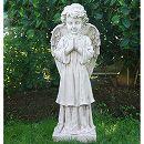 イタリア製石像:祈り