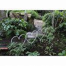 花壇フェンスハート型4セット