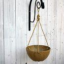 アートストーン ハンギング ボール 直径25cm(ベージュ)