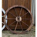 車輪トレリス:ダークブラウン(焼杉) 直径80cm