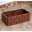 ブリックエッジ:チョコ高さ18cm 10枚セット