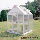 [送料無料] 家庭用屋外温室プチカ:1坪タイプ ポリカーボネートWP-10PH(引戸タイプ)