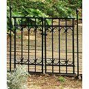パークアベニューフェンス:ゲート基本セット(ゲート1枚とポスト2本)