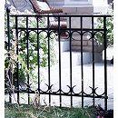パークアベニューフェンス:フェンス連結セット(高さ76.5cm フェンス1枚とポスト1本)