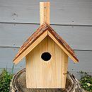 バードハウス80923(木の皮屋根)